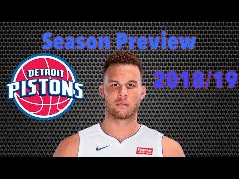 Detroit Pistons NBA Season Preview 2018/19