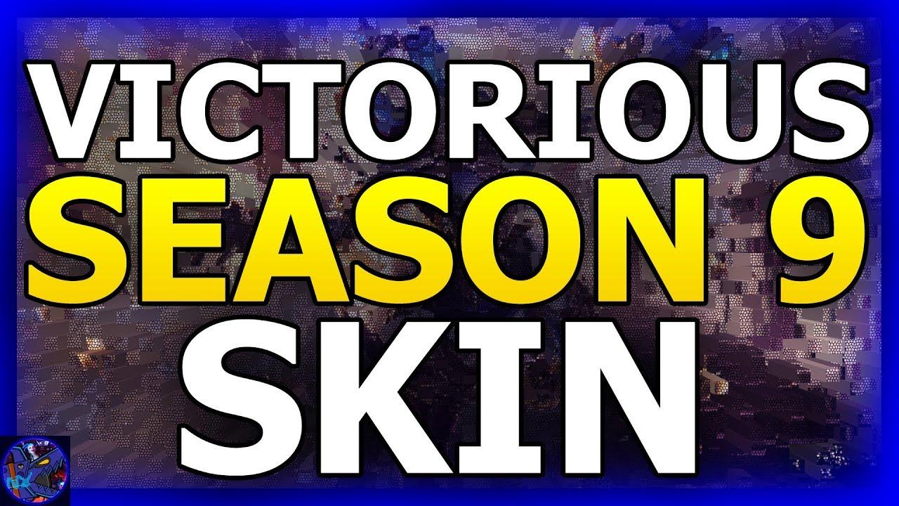 VICTORIOUS Skin SEASON 9 League Of Legends 2019