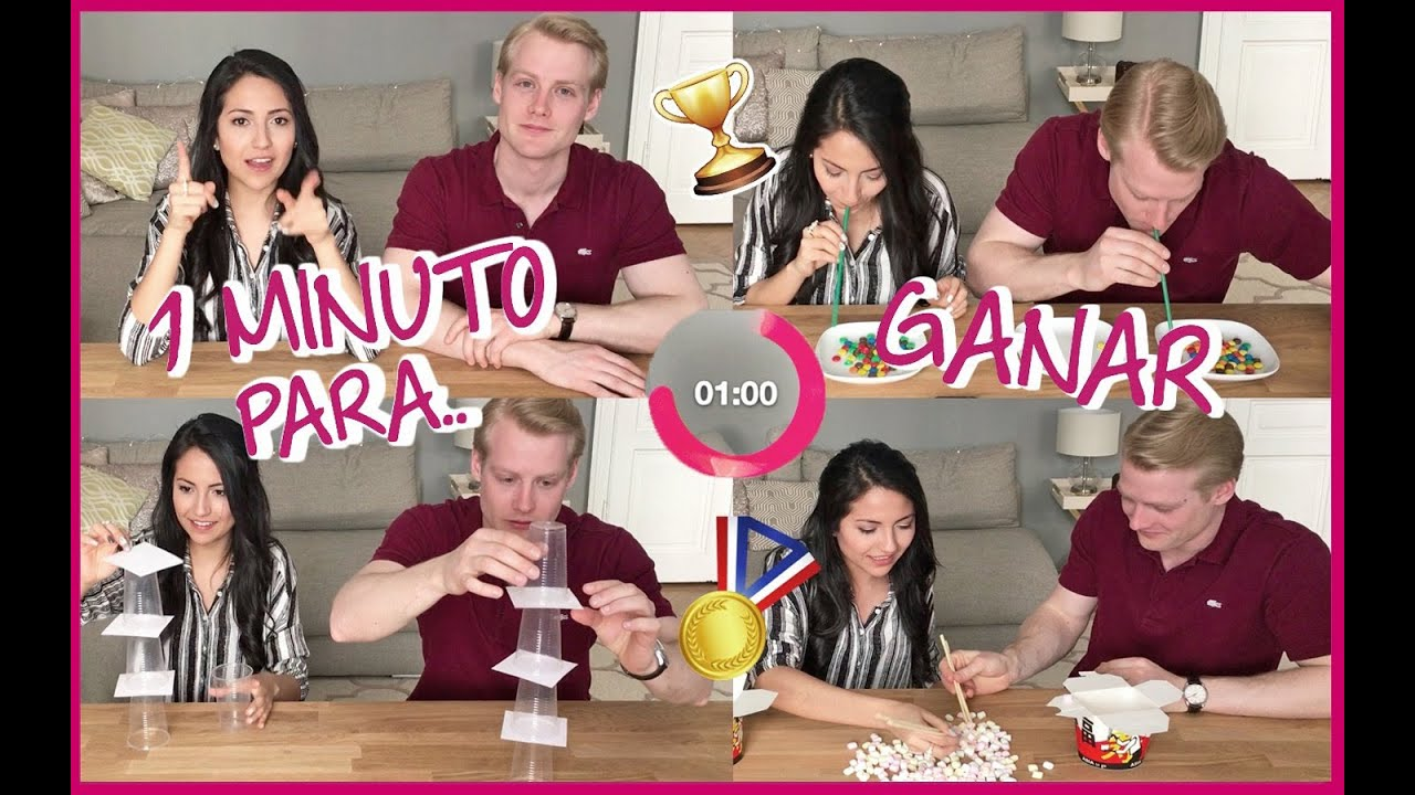 One Minute To Win Tag Un Minuto Para Ganar Youtube