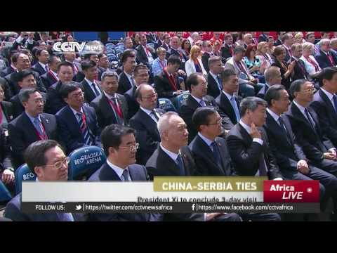 Chinese President to conclude 3-day visit to Serbia