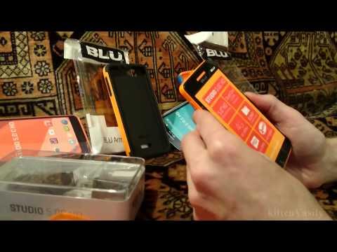 Smartphone Review Blu Studio 5.0 C HD (535u) + CandyShield & ArmorFlex Cases