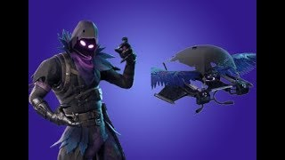 SELLING WITH THE NEW SKIN OF THE RAVEN WITH SUBSCRIBERS! FORTNITE BATTLE ROYALE- Alvaruski29