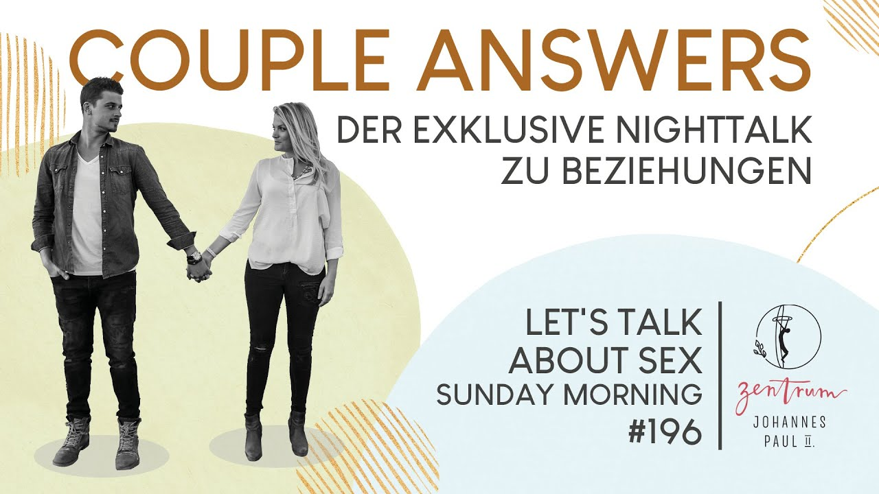 """COUPLE ANSWERS - """"Guter Sex nur in der Ehe? - YouTube"""