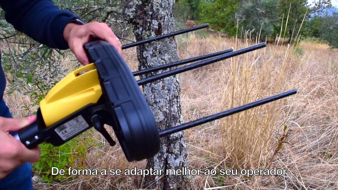 Varejador de Azeitona Giulivo (máquina de colher azeitona) - YouTube
