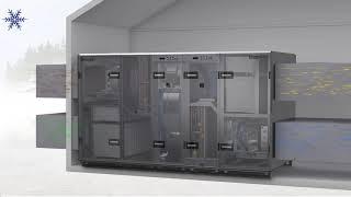 Swegon GOLD RX/HC Integrated Reversible Heat Pump ; Auerhaan-Klimaattechniek