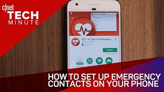 How to set up emergency contacts on your phone (Tech Minute)