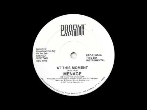 Menage – At This Moment (Hi-Nrg 1987)