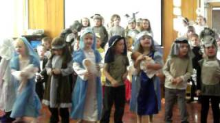 Poppy's Nativity 2010 - Wriggly Nativity song