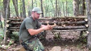 Survival Shelters- A Frame Debris Bed