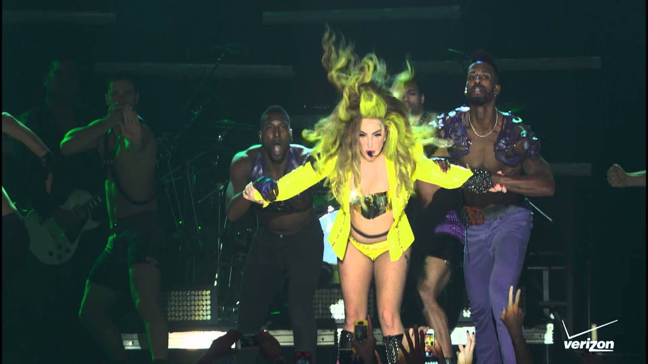 Lady Gaga - Just Dance Live at Roseland