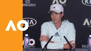 Garbiñe Muguruza press conference (3R) | Australian Open 2020