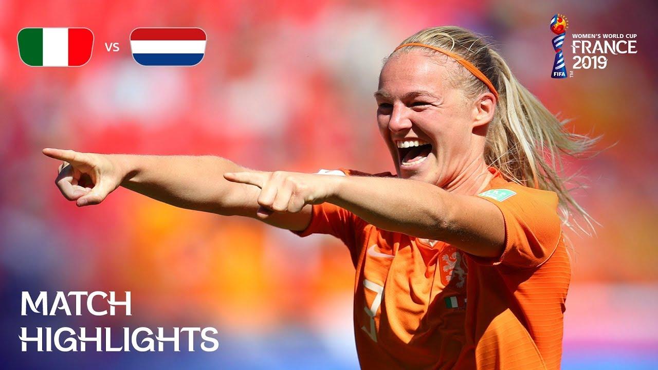 Italy vs Netherlands 0 - 2
