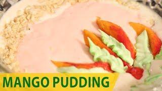 Mango pudding | Mallika Joseph Food Tube