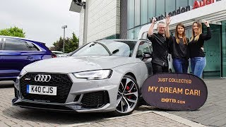 Winner Chris Sleight collects his Audi RS4 thumbnail
