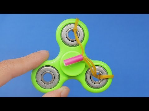 Thumbnail: 3 AWESOME FIDGET SPINNER TRICKS or LIFE HACKS