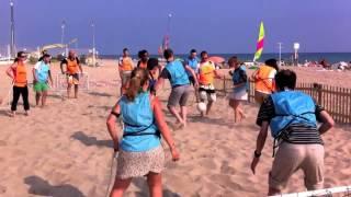 Beach Olympic Games - www.windcatactivities.com - team building- outdoor training