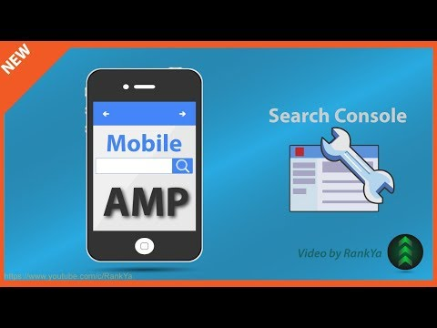 Google Search Console Accelerated Mobile Pages AMP