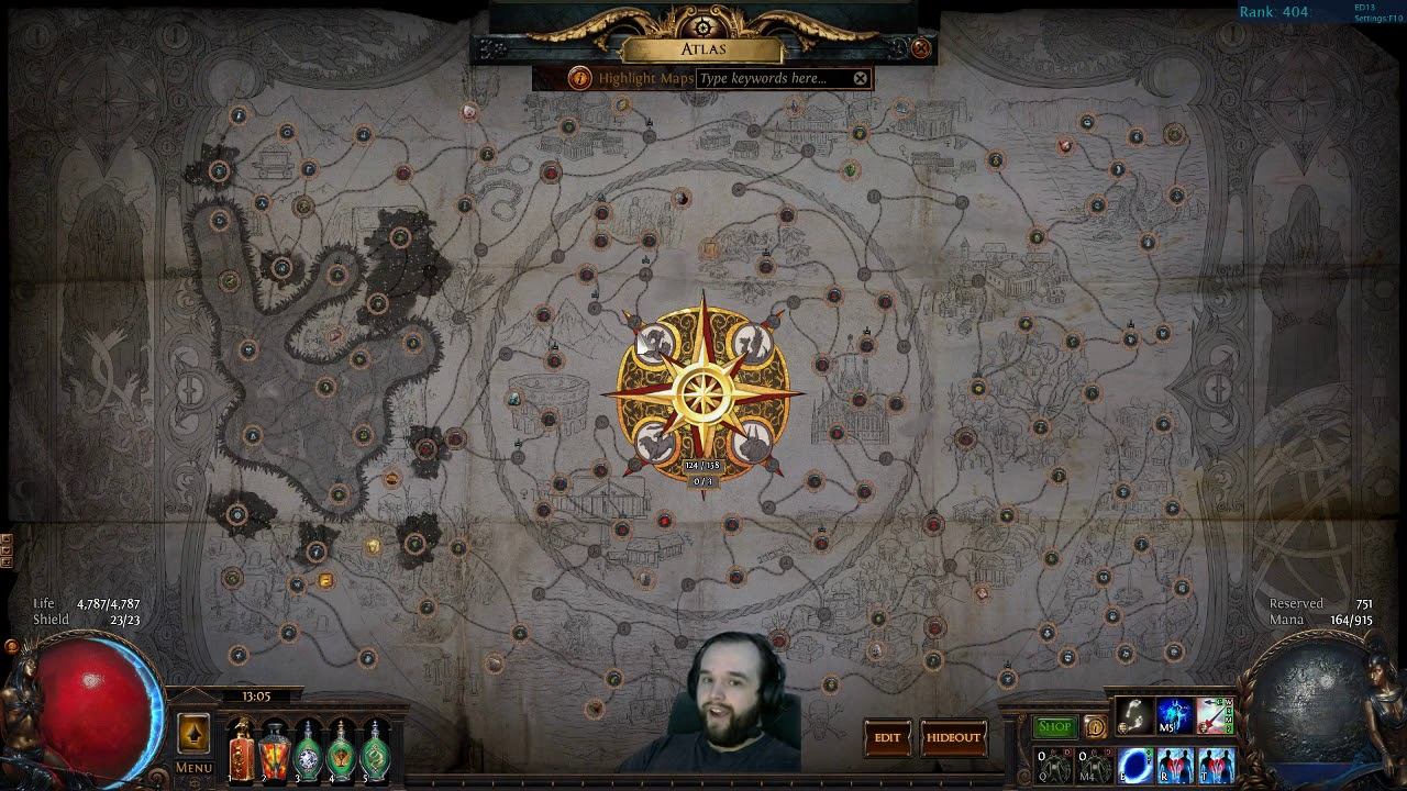 How To Choose Maps To Farm In Path Of Exile Youtube