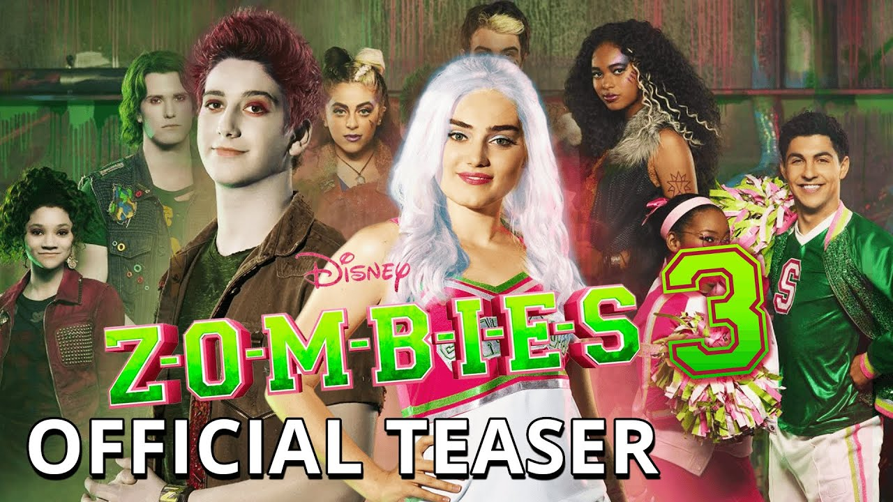 Zombies 3 Teaser Youtube