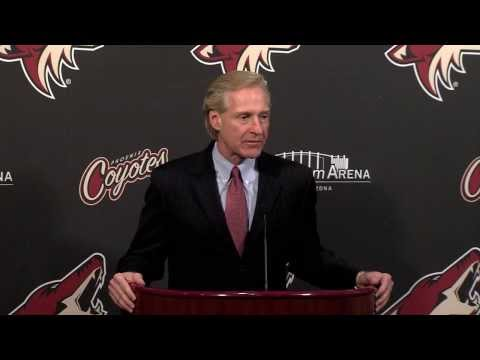 Coyotes GM Don Maloney Discusses Deal For Martin Erat & John Mitchell