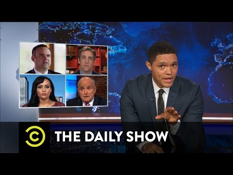 The Daily Show - The Hardest Job in the World: Donald Trump's Campaign Surrogates