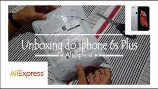 Unboxing: iPhone 6s Plus - Aliexpress (Não fui taxado)