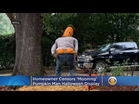 Dana McKenzie - Man's Mooning Scarecrow Decoration Cause Outrage In Community