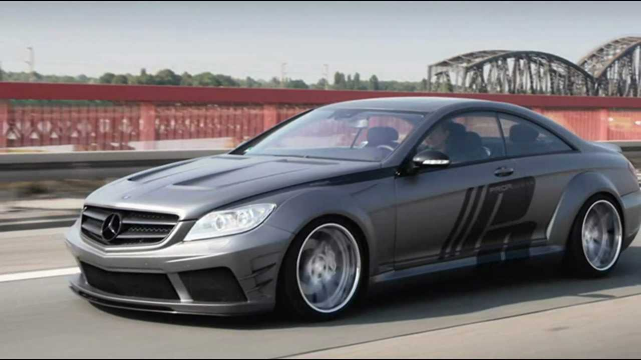 2012 prior design mercedes benz cl c216 black edition v2 for Mercedes benz black edition