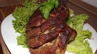 просто запечённое мясо в духовке