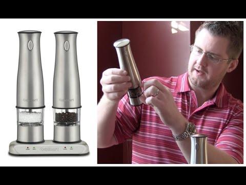 Cuisinart Rechargeable Salt & Pepper Mill Review