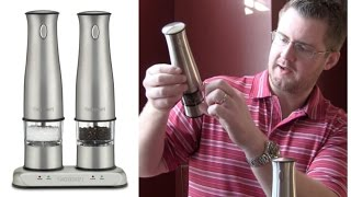 Cuisinart Rechargeable Salt & Pepper Mill Review