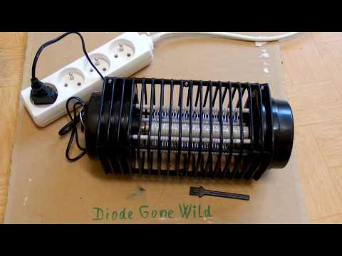 Circuito Zapper : Chinese insect zapper mosquito killer crazy circuit and