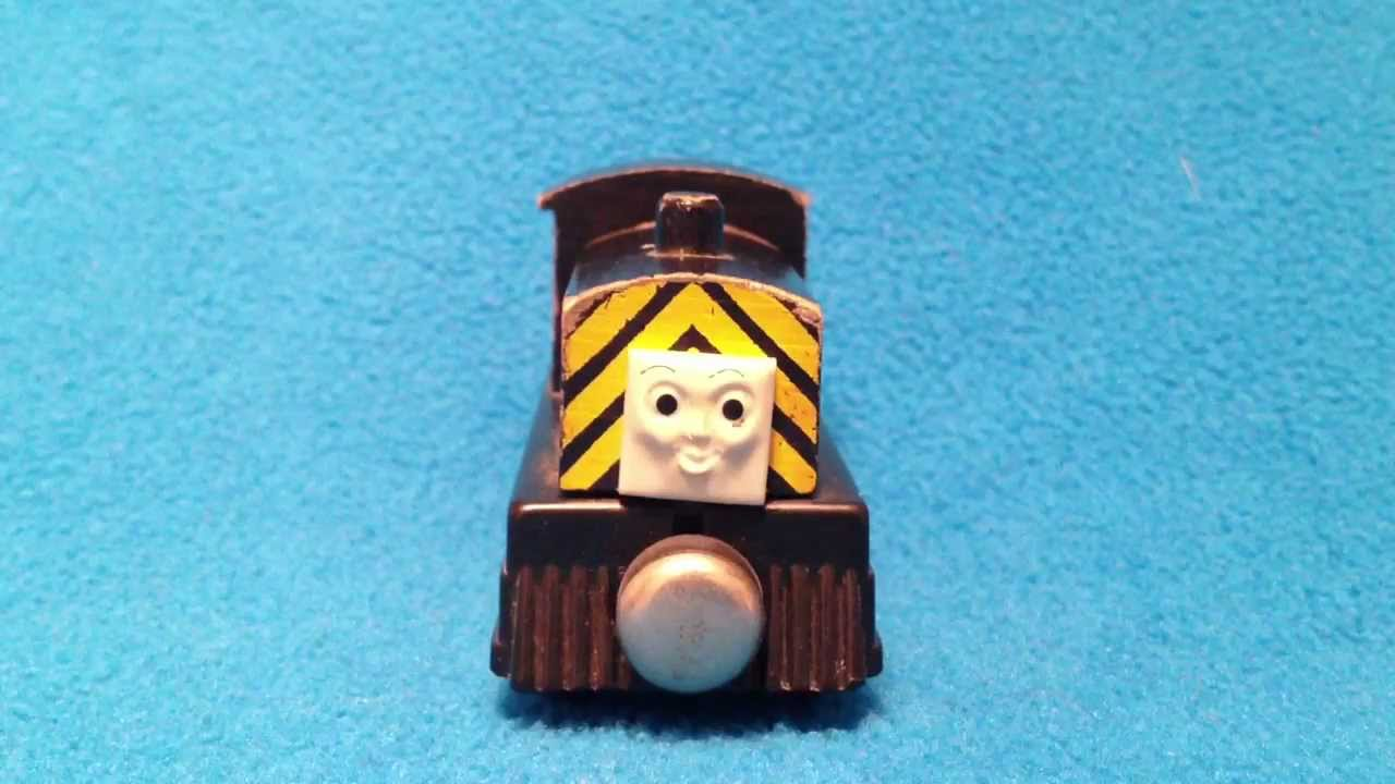 Rare 1992 4 Wheel Mavis Thomas The Tank Engine Friends Wooden Railway Kids Toy Review