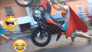 Falhas e capotes 3# acidente de moto# vídeos engraçados