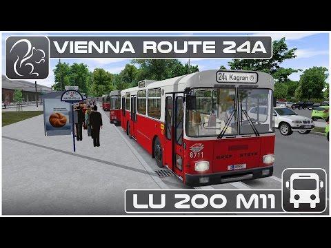 OMSI 2 - Vienna Route 24a (LU 200 M11)