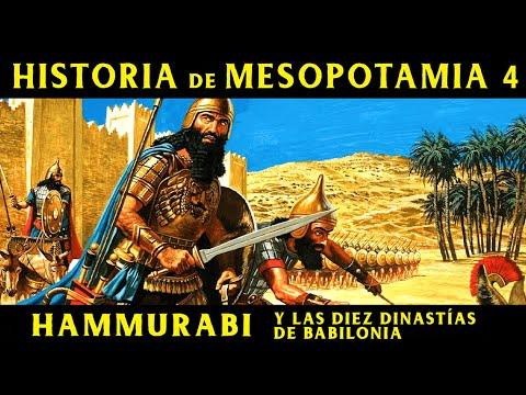 MESOPOTAMIA 4: Hammurabi y las 10 dinastías de Babilonia