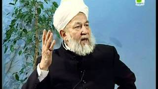 Liqa Ma'al Arab 24 March 1998 Question/Answer English/Arabic Islam Ahmadiyya