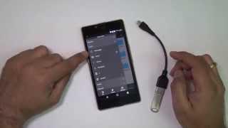 Yu Yuphoria USB OTG Test Part 2 With ES File Explorer
