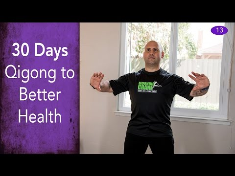 Day #13 - Qigong Flow Meditation - 30 Days of Qigong to Better Health