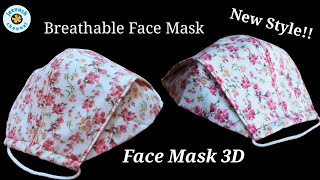Diy New Face Mask Easy To Make Sewing Tutorial How to Make a Fabric Face Mask No Fog On Grasses