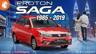 Proton Saga 1985 - 2019