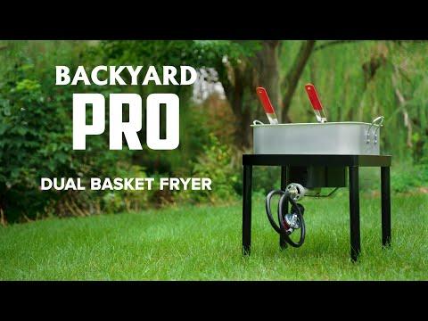 Backyard Pro Dual Basket Fryer