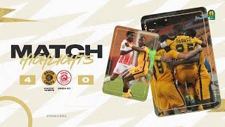 HIGHLIGHTS   Kaizer Chiefs 4 - 0 Simba SC   Quarter-finals 1st leg   #TotalCAFCL