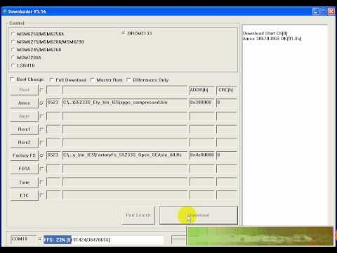 VIDEO huong dan unlock usercode ss s5233s bang tool
