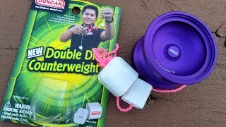 Duncan Double Dice YoYo Counterweight Unboxing and Review.