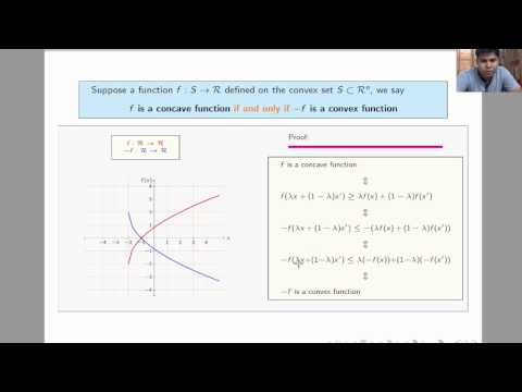 L3.8 - Connection between concave and convex function