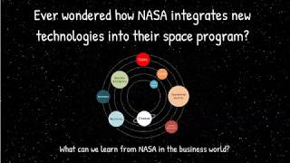 Ever wondered how NASA integrates new technologies into their space program
