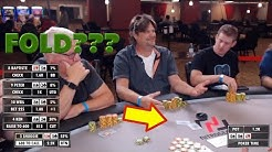 Poker Time Cash Game: Did He Really Just Fold???