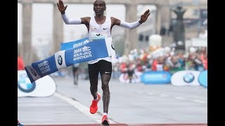 BREAKING NEWS: Eliud Kipchoge smashes the world record