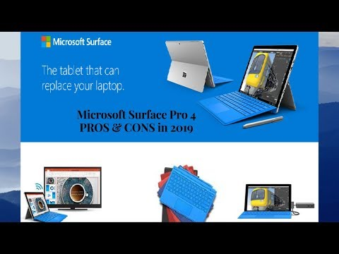 Microsoft Surface Pro 4 PROS & CONS - Microsoft Surface